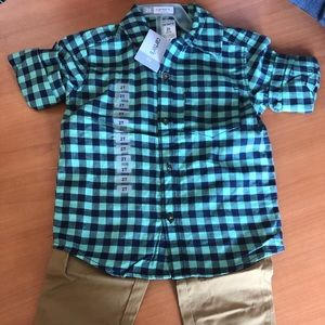 New 2t Carter's outfit